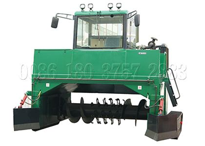 Crawler Type Compost Turner for Sale