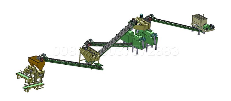 Double Roller Granulator Fertilizer Production Line
