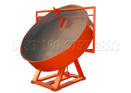 Pan chicken manure granulator