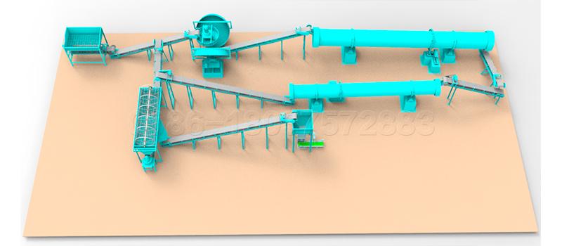 Small Scale Compound Fertilizer Production Line