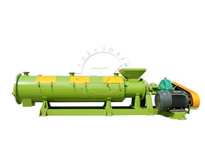 Animal manure fertilizer granulator machine