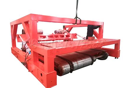 Chain type compost machine made by SEEC