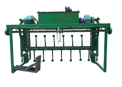 Chicken manure compost making machine