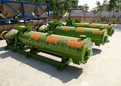 Chicken manure organic fertilizer granulator