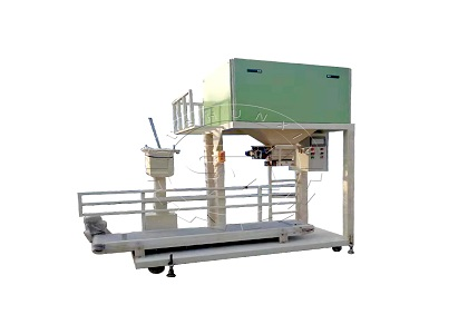 Cow manure fertilizer packing scale