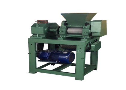 Double roller fertilizer pelletizer for making npk fertilizer pellets