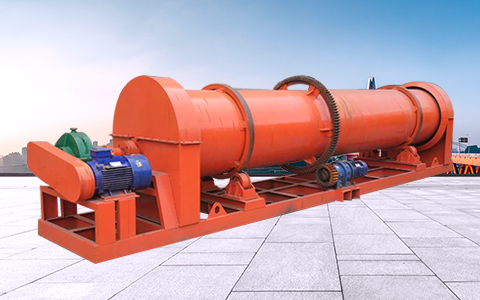 High yield rotary drum stirring pellet mill for making compound fertilizer