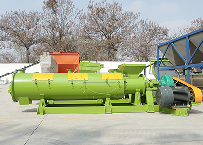 chicken manure fertilizer pellet machine