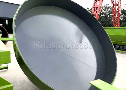 customized pan granulator for sale